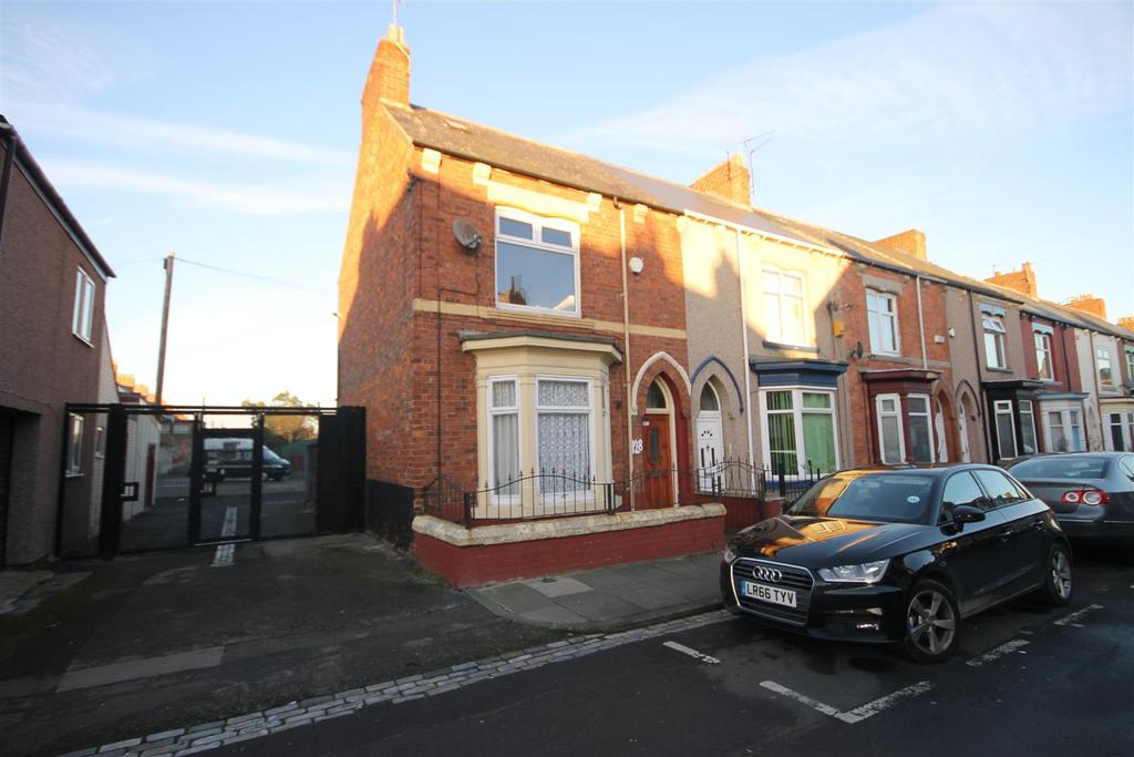 3 Bedrooms End Of Terrace House for sale in Milton Road, Hartlepool