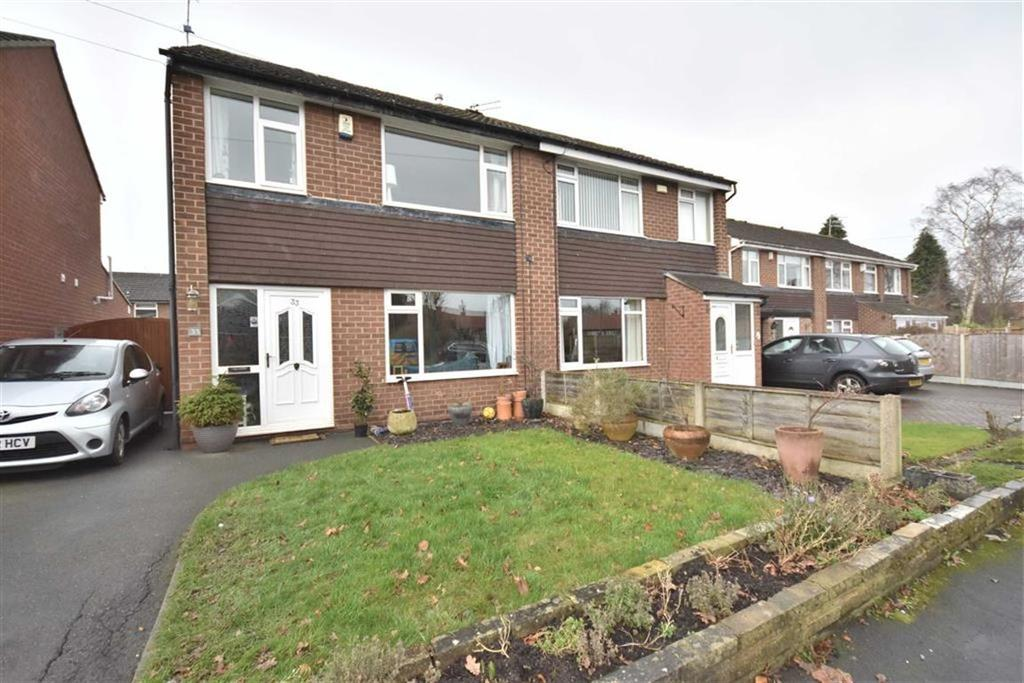 3 Bedrooms Semi Detached House for sale in TAPLEY AVENUE, POYNTON, Cheshire
