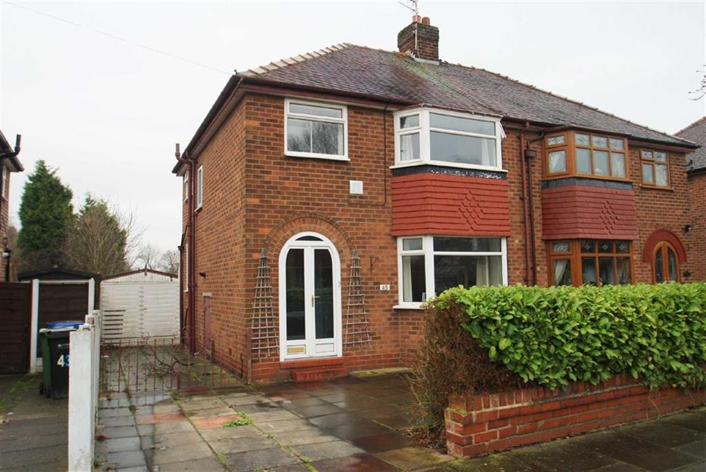 3 Bedrooms Semi Detached House for sale in Motcombe Road, Heald Green