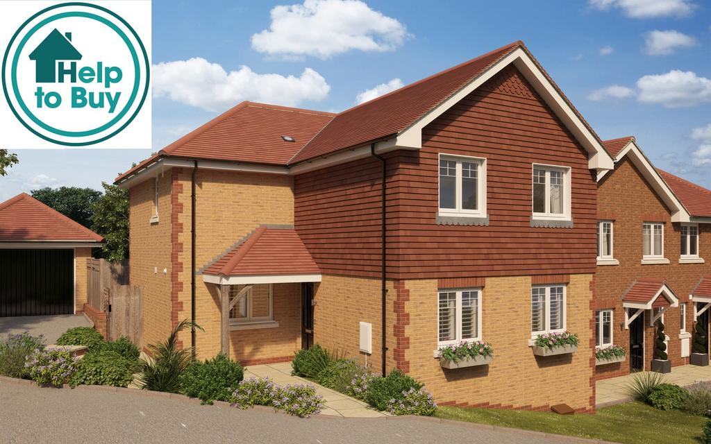 4 Bedrooms Detached House for sale in Bartram Close, Pulborough, West Sussex, RH20