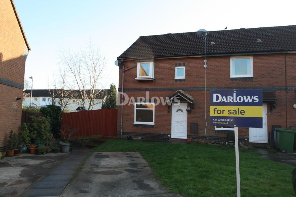 3 Bedrooms End Of Terrace House for sale in Cavendish Close, Thornhill, Cardiff, CF14