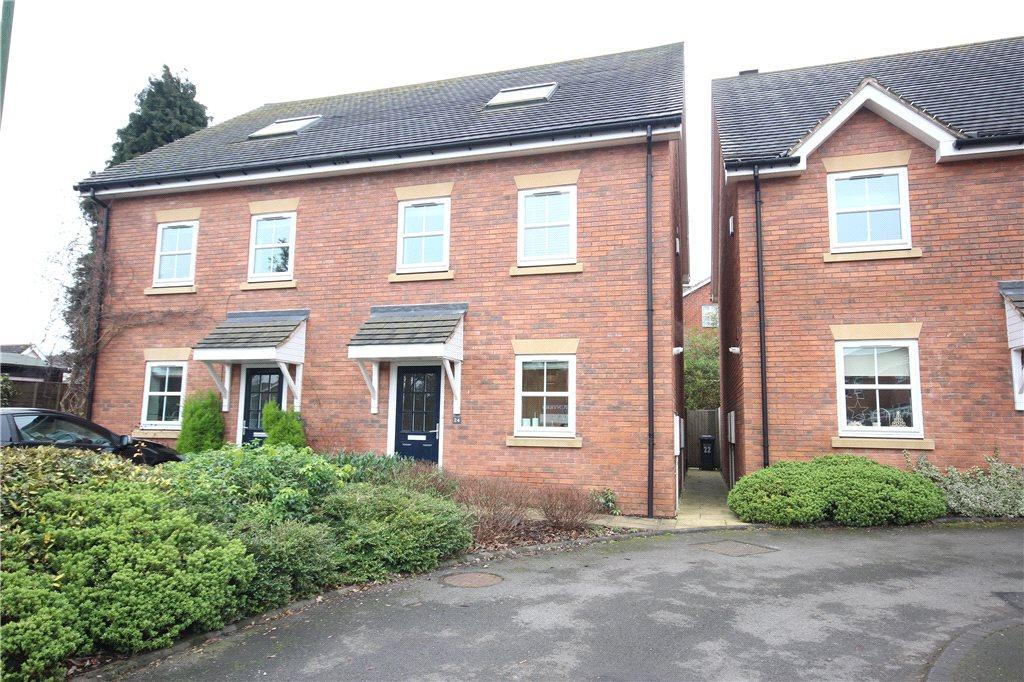 3 Bedrooms Semi Detached House for sale in Fennis Close, Dorridge, Solihull, West Midlands, B93