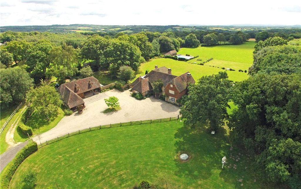 6 Bedrooms Detached House for sale in Hadlow Down, Uckfield, East Sussex, TN22
