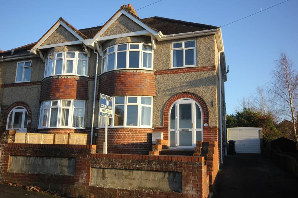 3 Bedrooms Semi Detached House for sale in ST FRANCIS ROAD, SALISBURY, WILTSHIRE