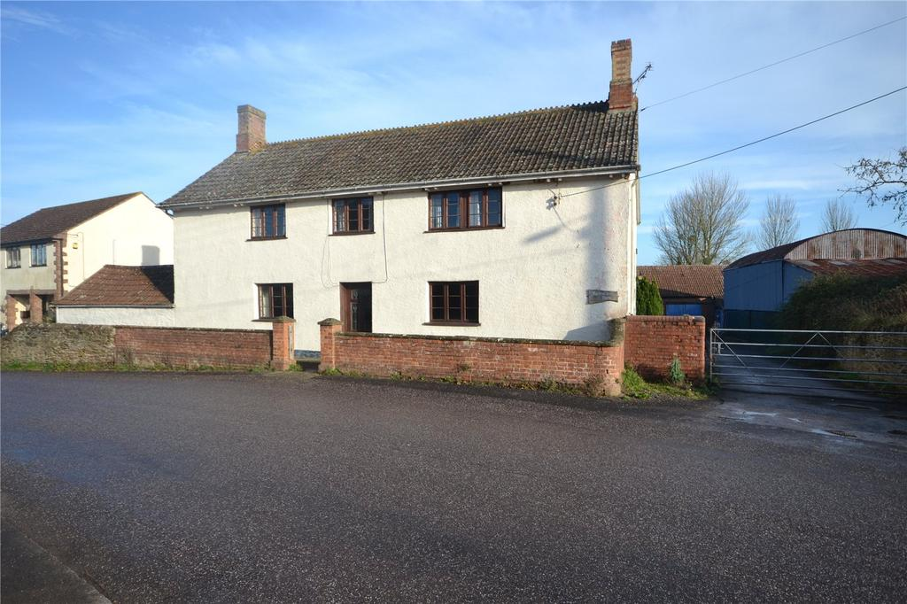 4 Bedrooms House for sale in Petherton Road, North Newton, Bridgwater, Somerset, TA7
