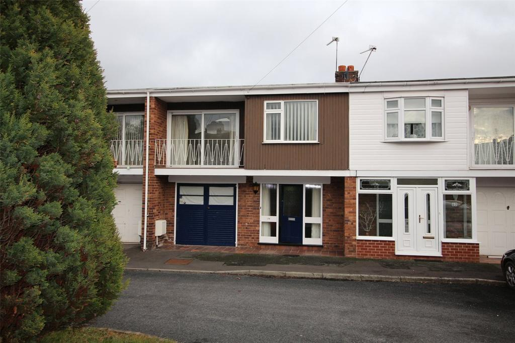 2 Bedrooms Terraced House for sale in Snowdon Drive, Ty Gwyn, Wrexham, LL11
