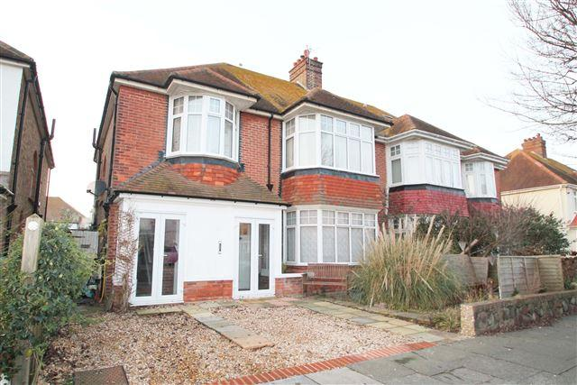4 Bedrooms Semi Detached House for sale in Braemore Road, Hove