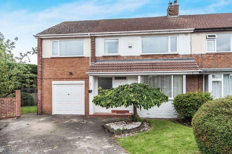 4 Bedrooms Semi Detached House for sale in Brompton Grove, Hartburn, Stockton, TS18 5HF