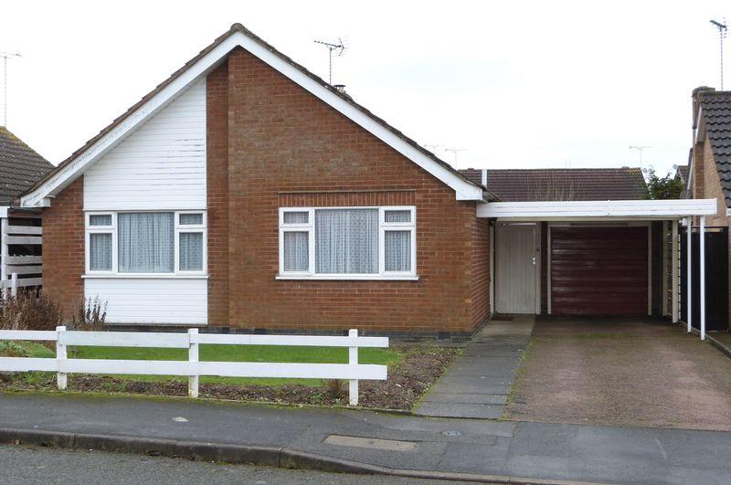 2 Bedrooms Detached Bungalow for sale in St. Wolstans Close, Wigston Magna