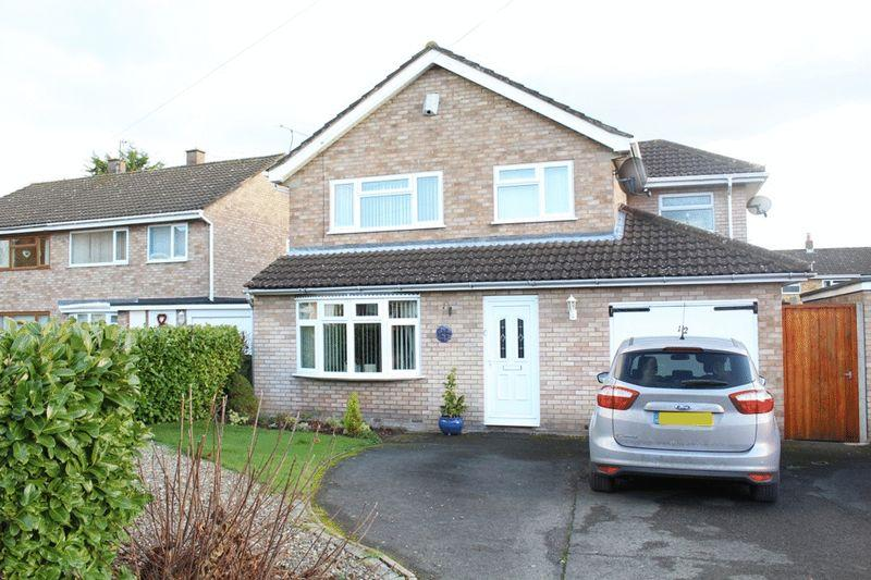 3 Bedrooms Detached House for sale in Bewdley Avenue, Telford Estate, Shrewsbury, SY2 5UQ