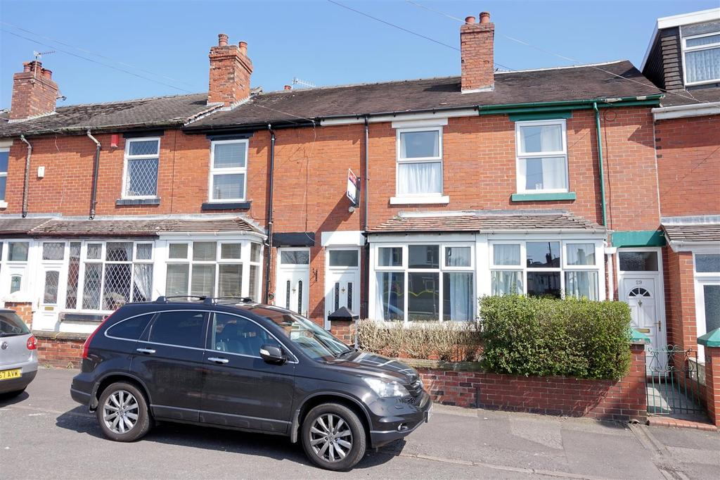 2 Bedrooms Terraced House for sale in Basford Park Road, May Bank, Newcastle