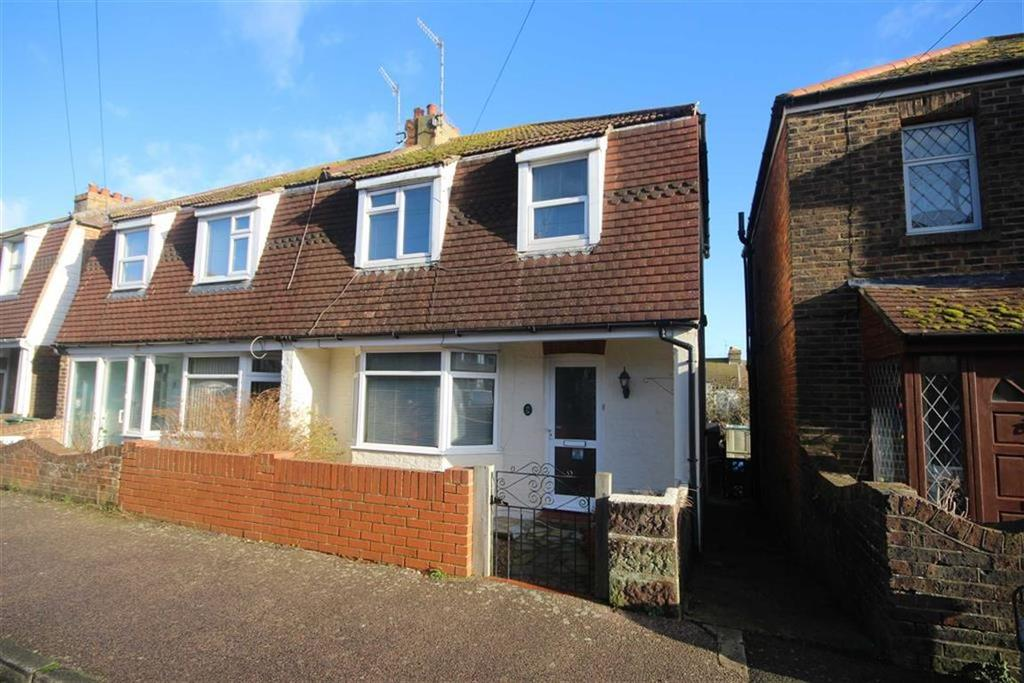 3 Bedrooms End Of Terrace House for sale in Saxon Road, Newhaven