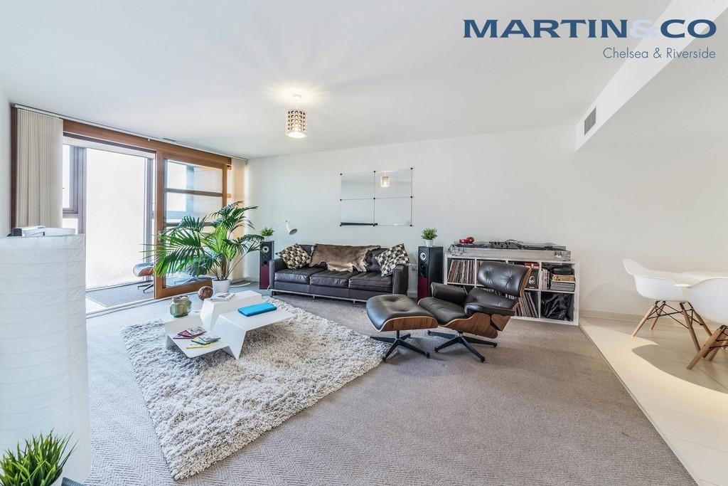 1 Bedroom Apartment Flat for sale in Falcon Wharf, Battersea