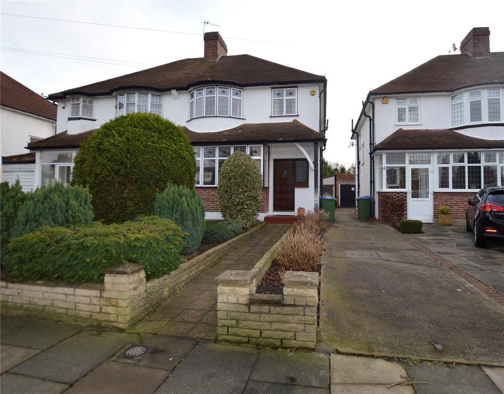 3 Bedrooms Semi Detached House for sale in Overmead, Sidcup, Kent, DA15