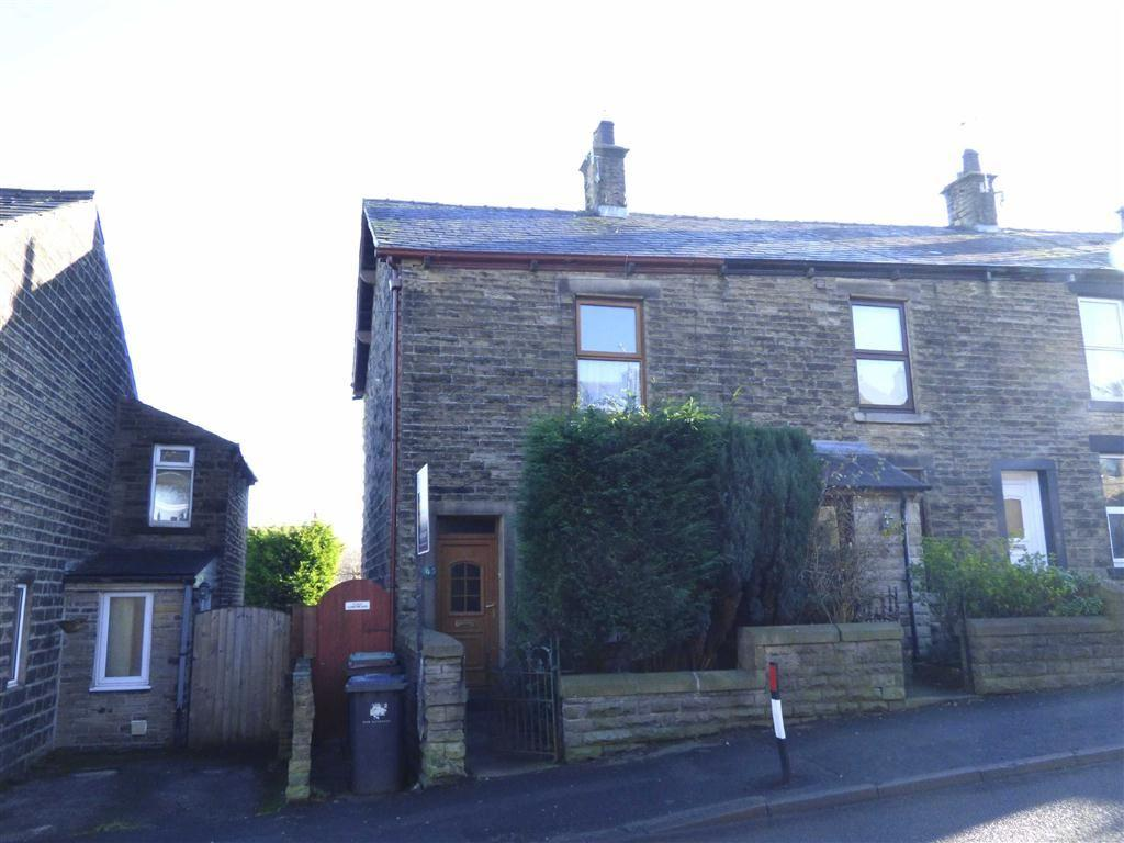 2 Bedrooms End Of Terrace House for sale in Simmondley Lane, Glossop, Derbyshire, SK13