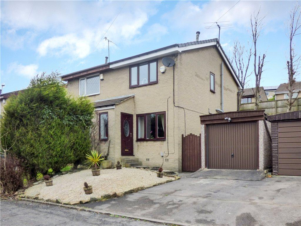 2 Bedrooms Semi Detached House for sale in Hydale Close, Long Lee, West Yorkshire
