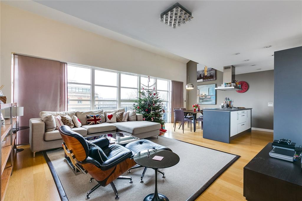 2 Bedrooms Flat for sale in Candlemakers Apartments, 112 York Road, London