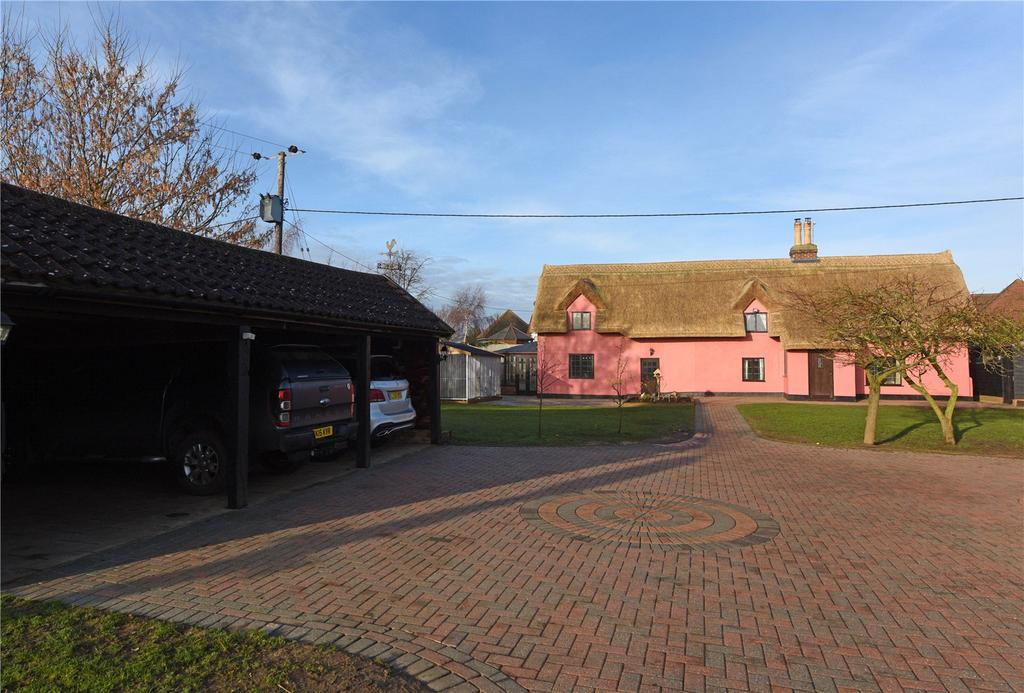 5 Bedrooms Detached House for sale in Battisford, Nr Needham Market, Suffolk, IP14