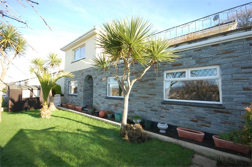 5 Bedrooms Detached House for sale in Chy Vounder, 24 Polpey Lane, Tywardreath, PAR, Cornwall