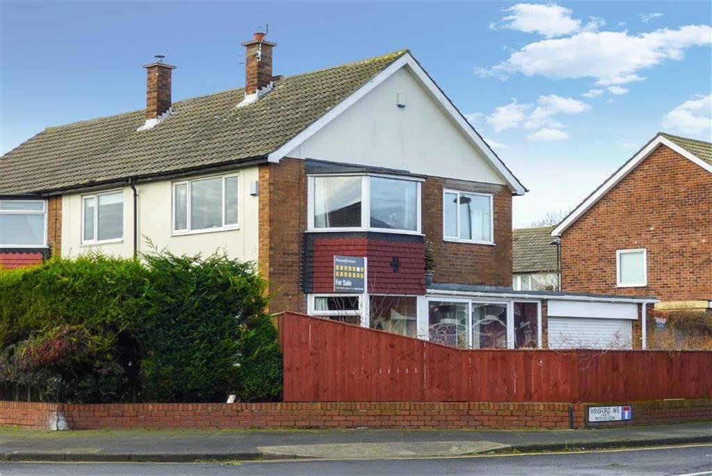3 Bedrooms Semi Detached House for sale in Winsford Avenue, Preston Grange