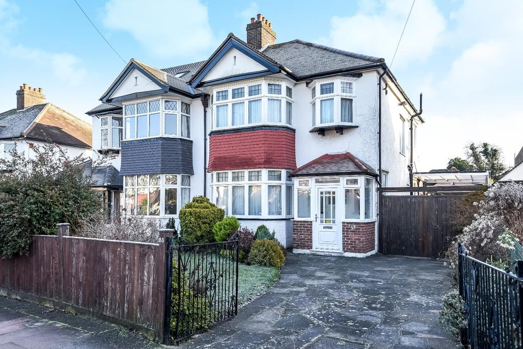 3 Bedrooms Semi Detached House for sale in Ravenswood Avenue West Wickham BR4