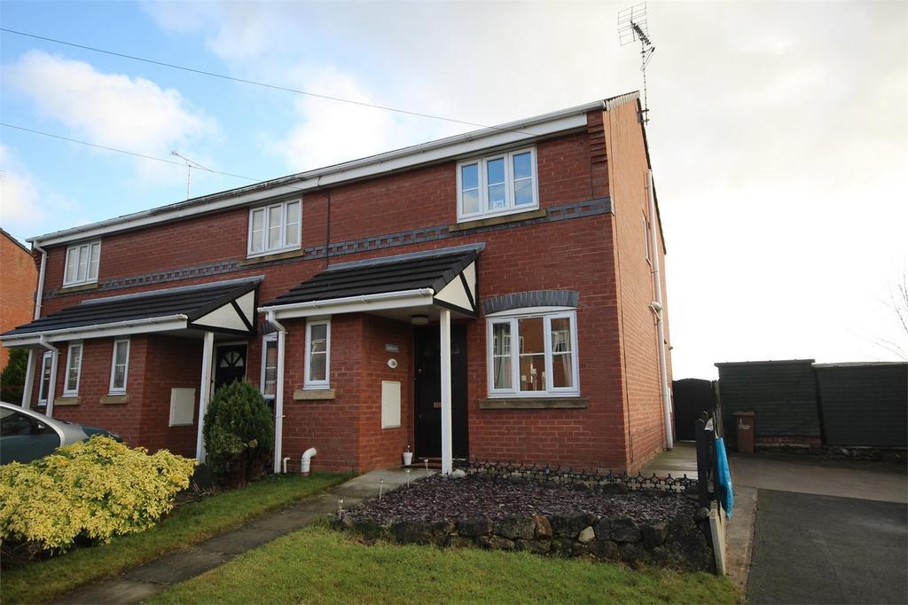 2 Bedrooms Semi Detached House for sale in The Brackens, Buckley, Flintshire