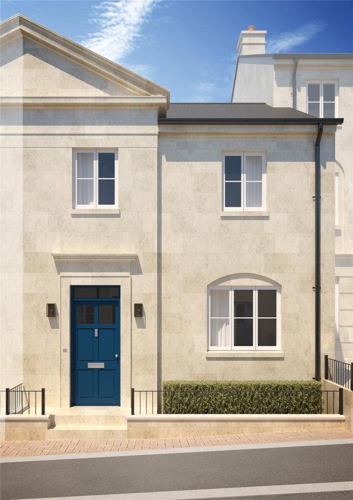 3 Bedrooms End Of Terrace House for sale in MacKillop, Holburne Park, Warminster Road, Bath, BA2