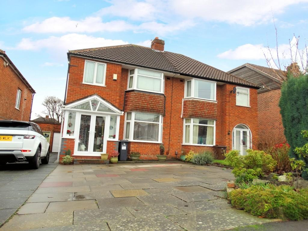 3 Bedrooms Semi Detached House for sale in Merevale Road, Solihull