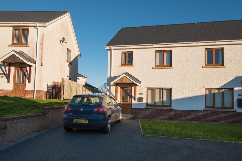 4 Bedrooms Semi Detached House for sale in Cae'r Wylan, Aberystwyth