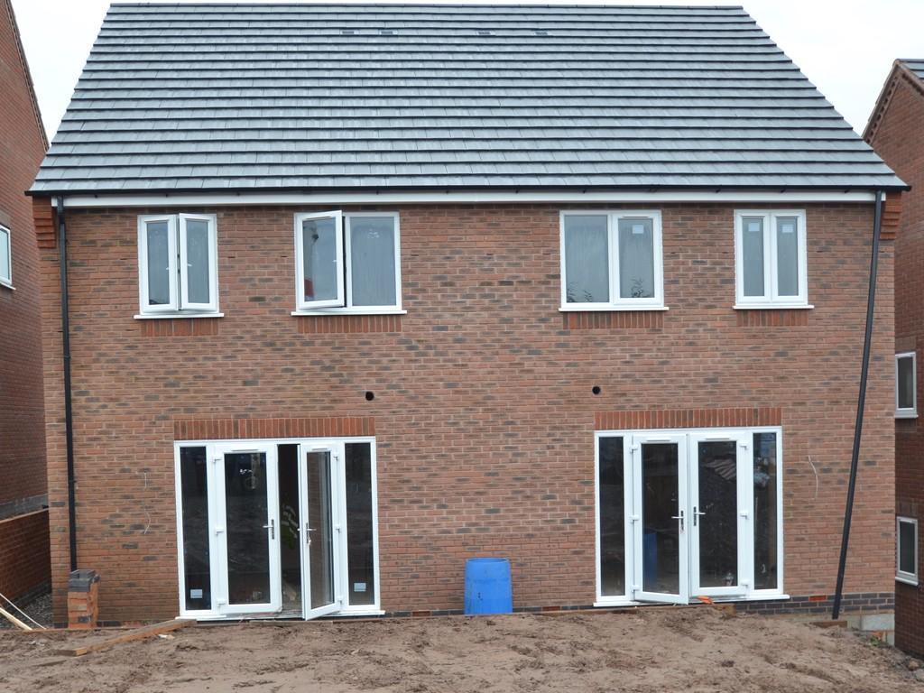 3 Bedrooms Semi Detached House for sale in New Build, Plot 4, Burgoyne Street, Cannock