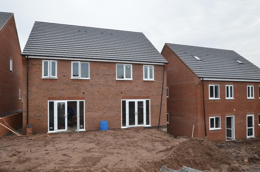 3 Bedrooms Semi Detached House for sale in New Build Plot 3, Burgoyne Street, Cannock