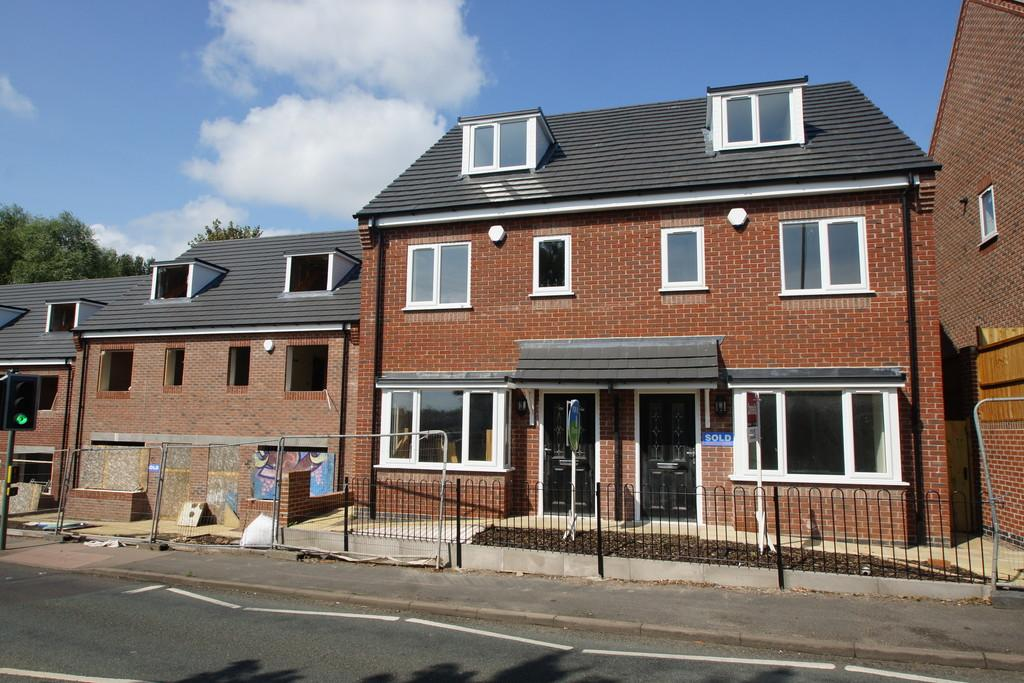 3 Bedrooms Semi Detached House for sale in New Build, Plot 6, Burgoyne Street, Cannock