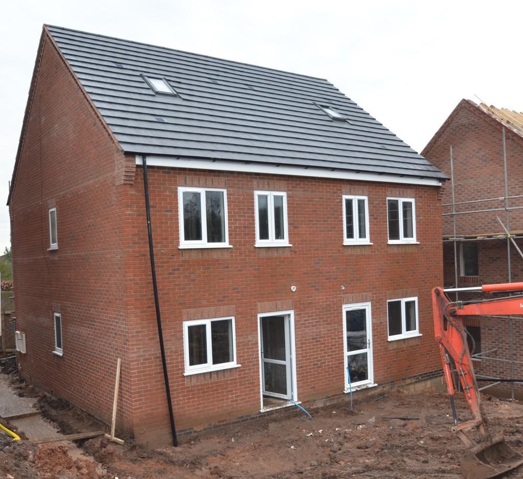 3 Bedrooms Semi Detached House for sale in New Build, Plot 6, Burgoyne Street, Cannock