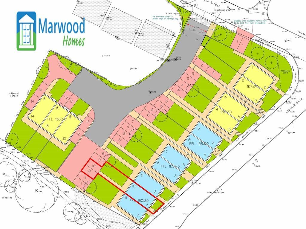 3 Bedrooms Terraced House for sale in New Build, Plot 10, Burgoyne Street, Cannock