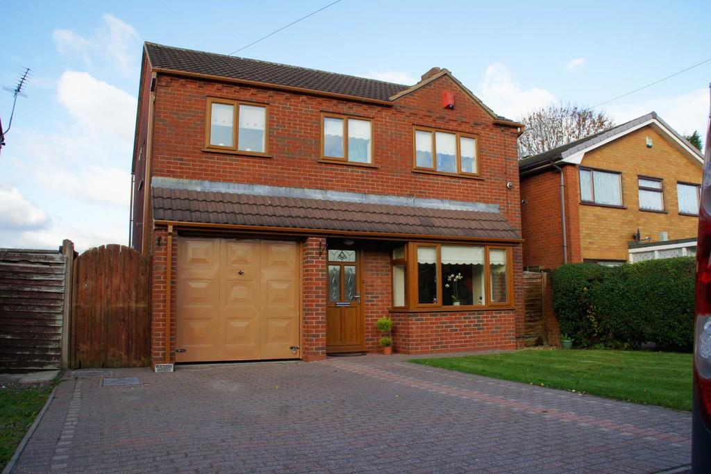 4 Bedrooms Detached House for sale in Red Lion Lane, Norton Canes, Cannock