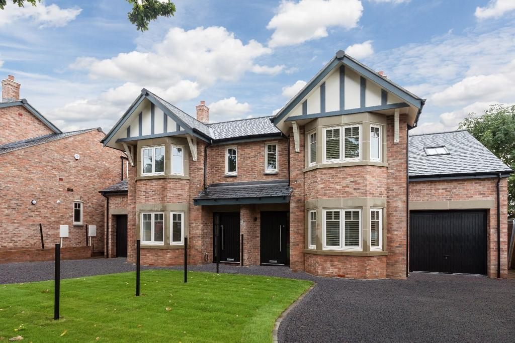 3 Bedrooms Semi Detached House for sale in Anson (Plot 1), Oak View, Wood Lane West, Adlington