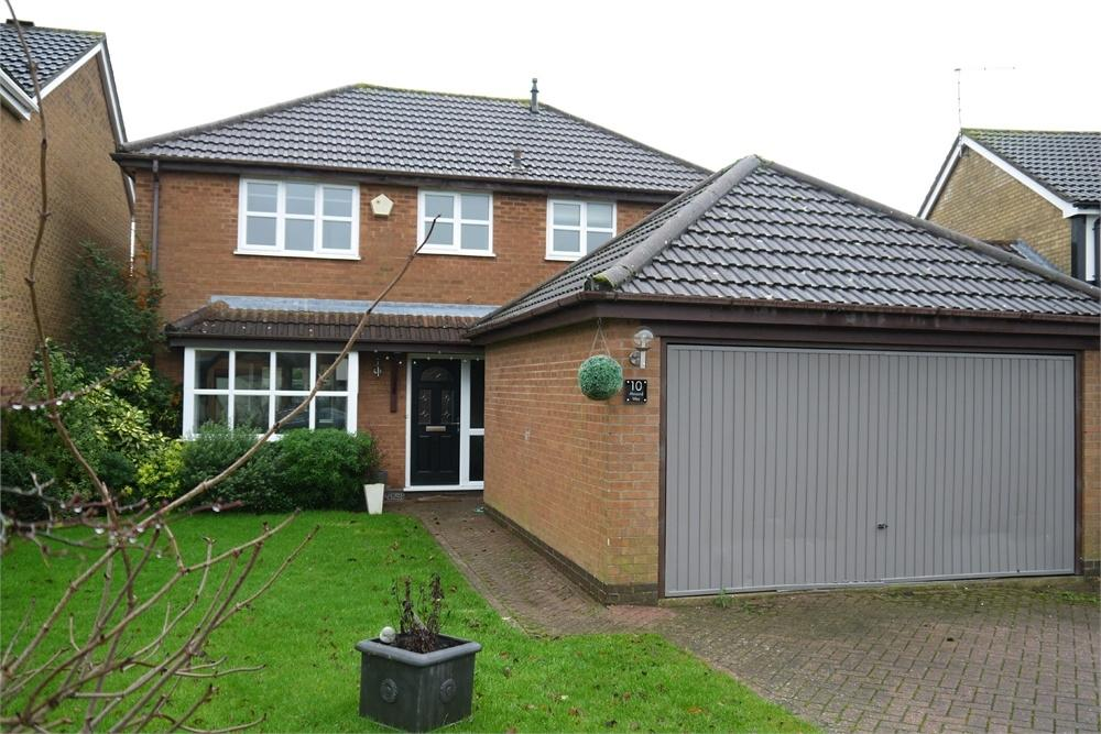 4 Bedrooms Detached House for sale in Almond Way, Lutterworth, Leicestershire