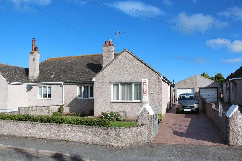 2 Bedrooms Semi Detached Bungalow for sale in Mill Road, Holyhead