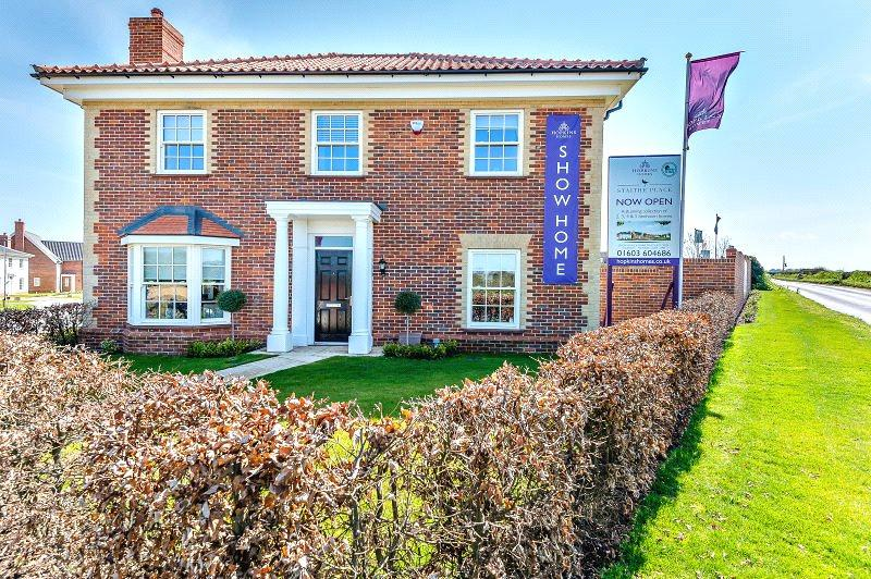 4 Bedrooms Detached House for sale in Plot 123 Staithe Place, Fakenham Road, Wells-next-the-Sea, Norfolk, NR23