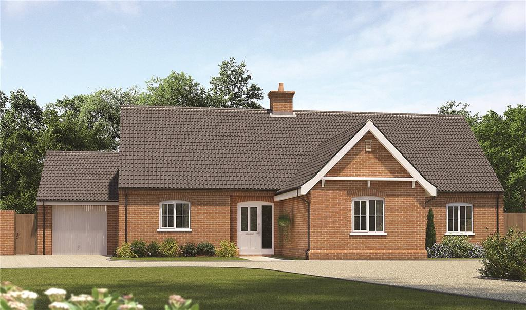3 Bedrooms Detached Bungalow for sale in Plot 117 Staithe Place, Fakenham Road, Wells-next-the-Sea, Norfolk, NR23