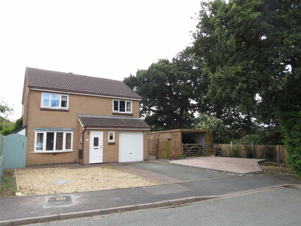 4 Bedrooms Detached House for sale in Swift Close, Shrewsbury, Shropshire