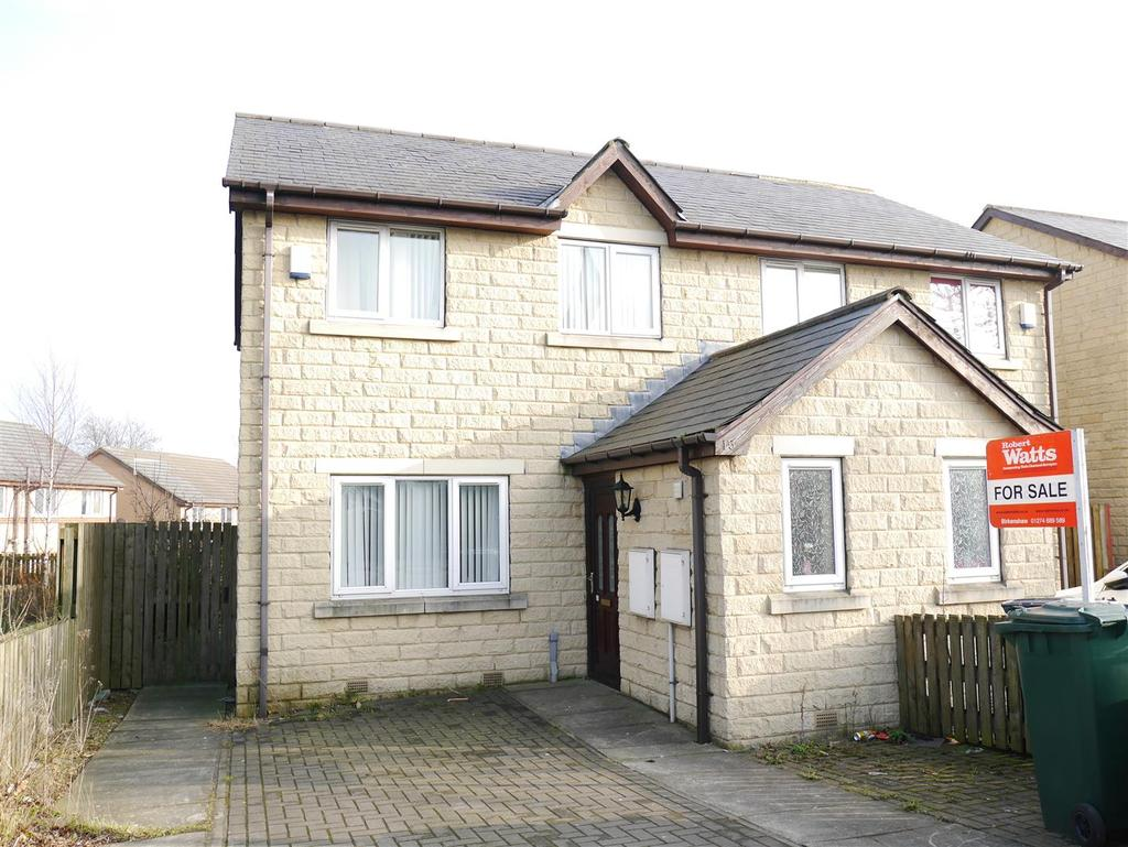 3 Bedrooms Semi Detached House for sale in Bierley Lane, Bierley, BD4 6AB