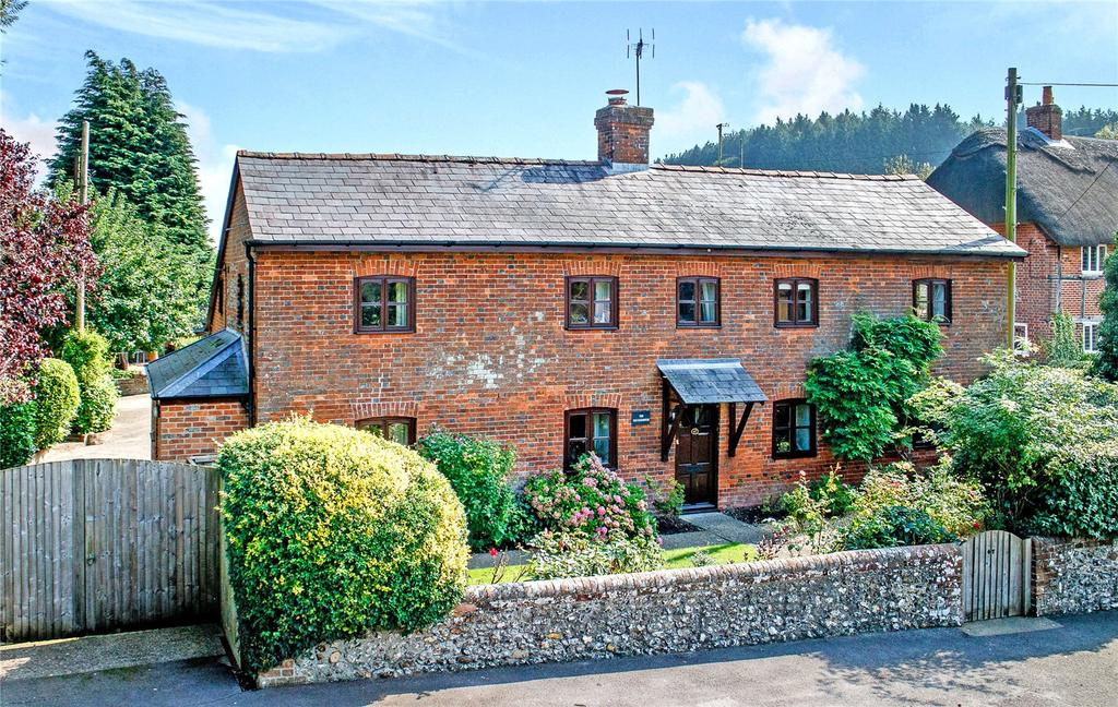 4 Bedrooms Detached House for sale in Froxfield, Marlborough, Wiltshire