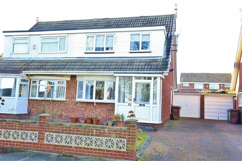 3 Bedrooms Semi Detached House for sale in Howley Avenue, Wear View, Sunderland, SR5