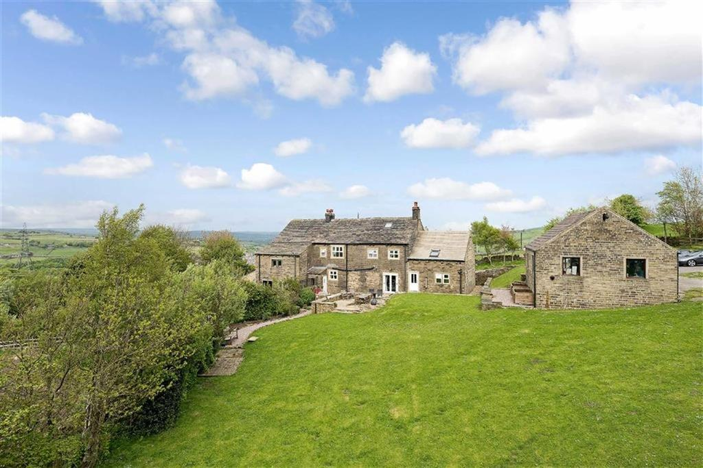 5 Bedrooms Unique Property for sale in Long Gate, Rishworth, HX6