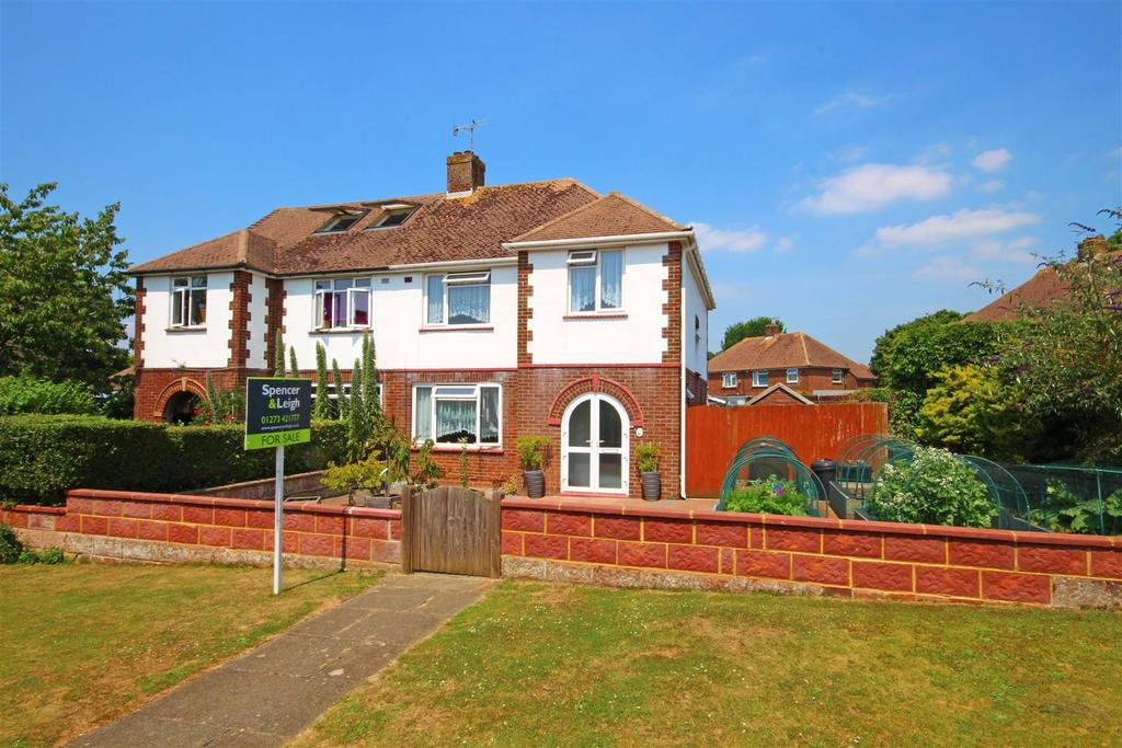 3 Bedrooms Semi Detached House for sale in Easthill Way, Portslade, Brighton