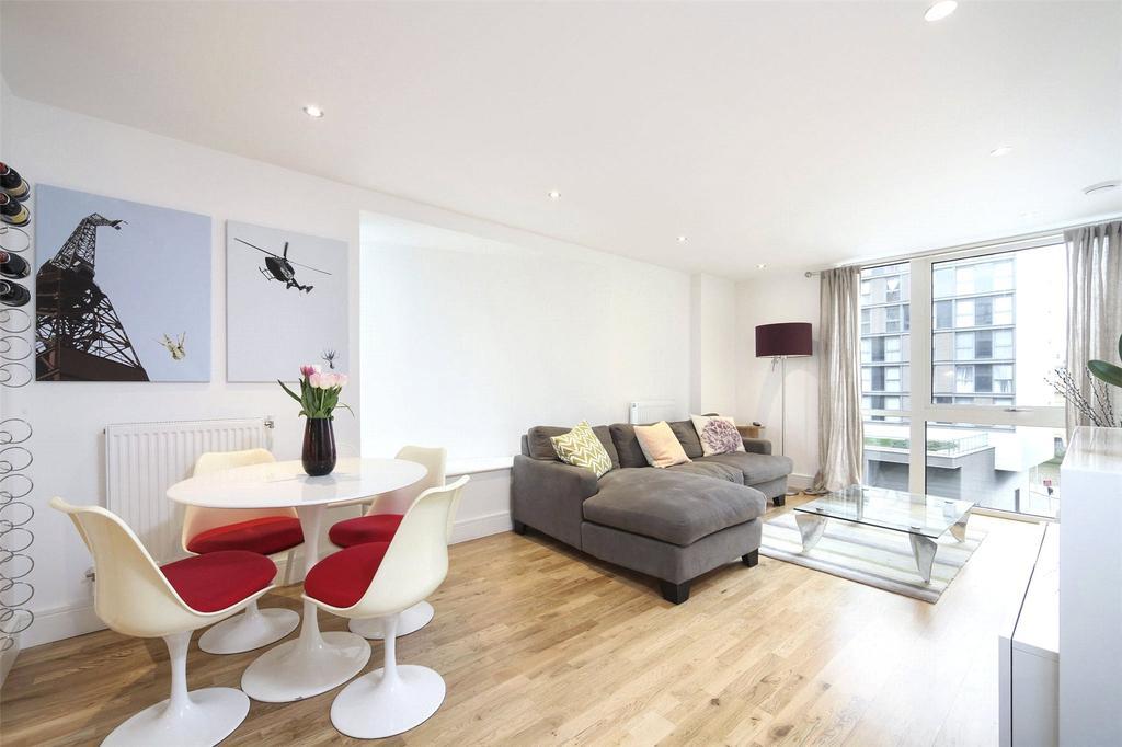 2 Bedrooms Flat for sale in Dowells Street, Greenwich, London