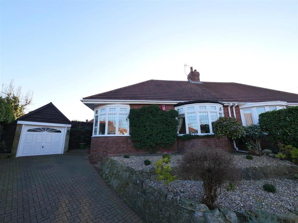 2 Bedrooms Semi Detached Bungalow for sale in Heatherlea Gardens, Barnes, Sunderland