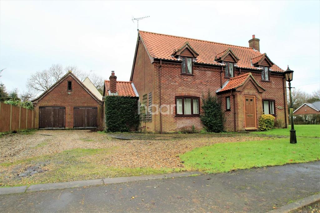 3 Bedrooms Detached House for sale in Station Drive, Great Fransham