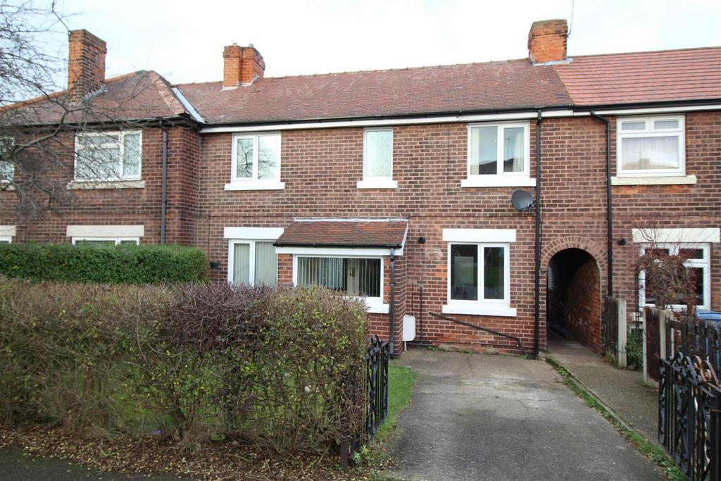 2 Bedrooms Terraced House for sale in Dukeries Crescent, Worksop